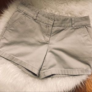 J.Crew City Fit Beige Shorts
